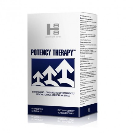 Potency Therapy - Hit na Erekcję - 60 kaps.