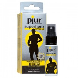 Spray Wydłużający Stosunek pjur superhero STRONG PERFORMANCE spray 20 ml