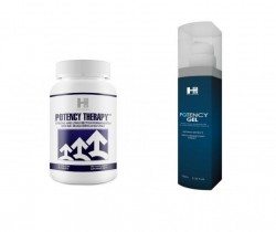 Mega Zestaw na Potencję Potency Therapy 60tab. + Potency Gel 100ml