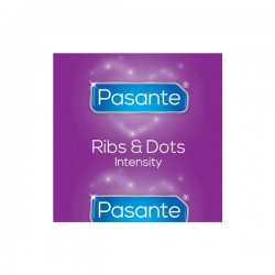 Prezerwatywy Pasante Ribs & Dots/Intensity 1 szt.