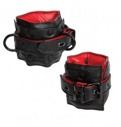 Kajdanki na Kostki Kink Leather Ankle Restraints